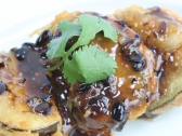 Deep Fried Egg Plant with Prawn Pie (6)