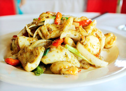 Seafood with Lemongrass and Chilli